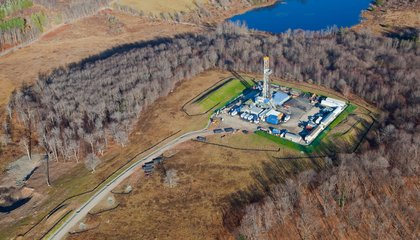 Tracking Frackers From the Sky