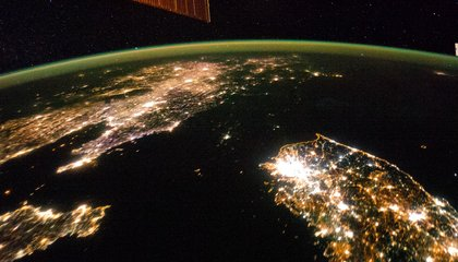 That Dark Spot? It's North Korea