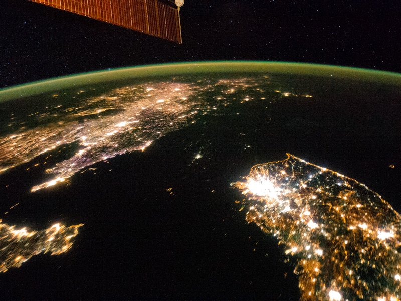 North Korea from Space
