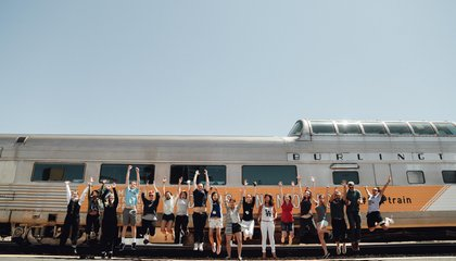 25 Millennials Just Crossed the United States By Rail Hoping to Leave Their Marks in Cities Along the Way
