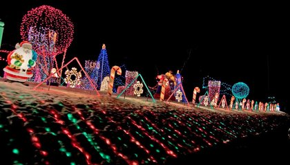 NASA Can See Your Holiday Lights From Space