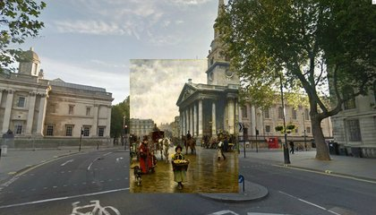 See London in Double Vision—How It Looks Today And How Artists Saw It Years Ago