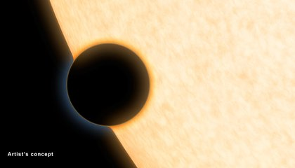 Water Vapor Found on Small, Cloudless, Hot Planet