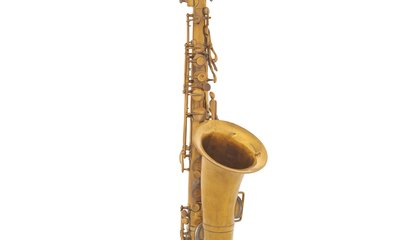 The First Saxophone Was Made of Wood