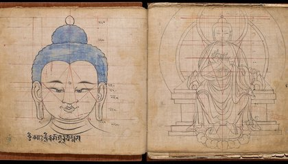 "The ""Tibetan Book of Buddhist Proportions"" Show Exactly How to Draw the Buddha"