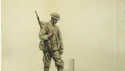 This Riveting Art From the Front Lines of World War I Has Gone Largely Unseen for Decades