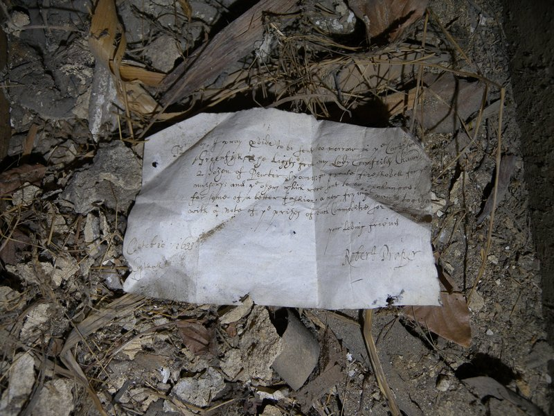 400 year old shopping list