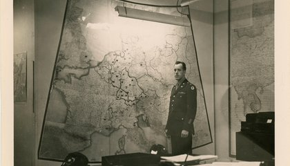 Take a Rare Look Inside FDR's WWII Information Center: The Map Room