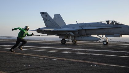 Photo Gallery: The Complex Choreography of Carrier Landings