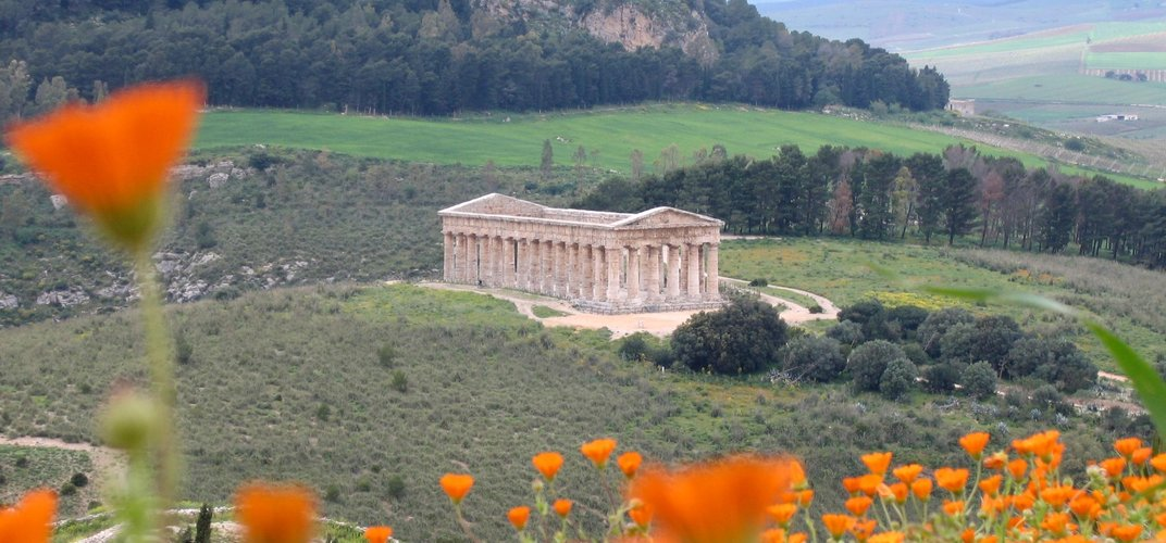 The Greek temple of Segesta, Sicily
