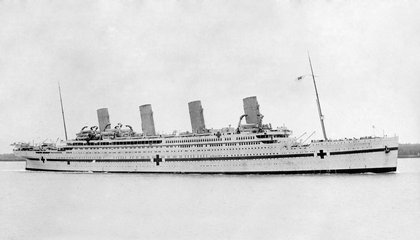 One Hundred Years Ago, the Titanic's Sister Ship Exploded While Transporting Injured WWI Soldiers