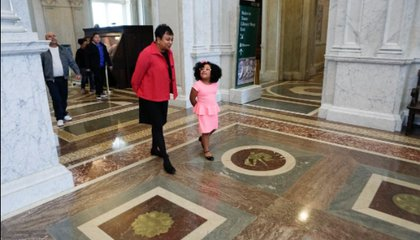A Four-Year-Old Bibliophile Is the Library of Congress' Latest Guest Librarian