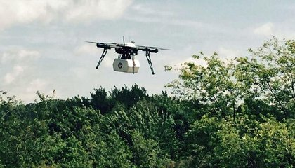 In Rural Virginia, a Drone Makes the First Legal U.S. Package Delivery
