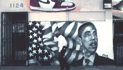 The Many Faces of President Obama, As Seen in America's Murals