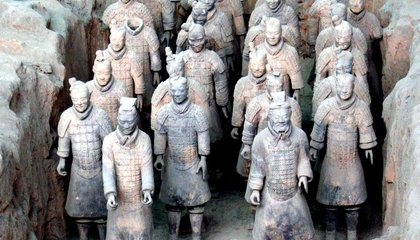 Did the Greeks Help Sculpt China's Terra Cotta Warriors?
