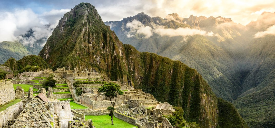 The iconic site of Machu Picchu