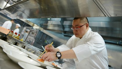 Meet the Michelin-Starred Chef Pushing the Limits of Vegetarian Cuisine in China
