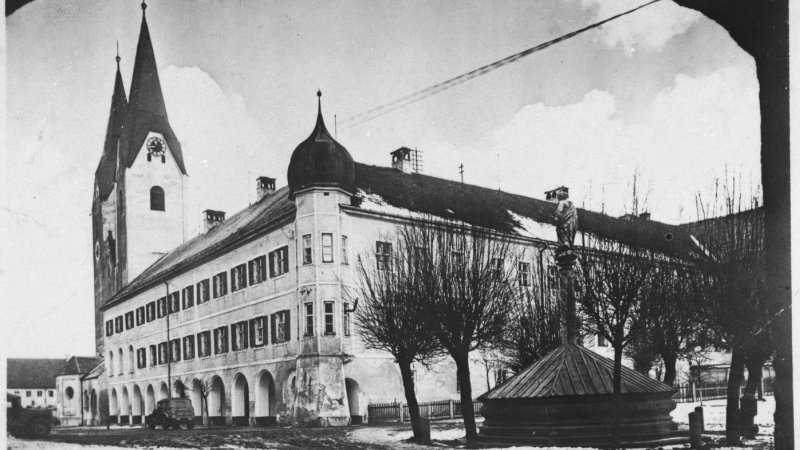 Exterior view of the Kloster Indersdorf children's home