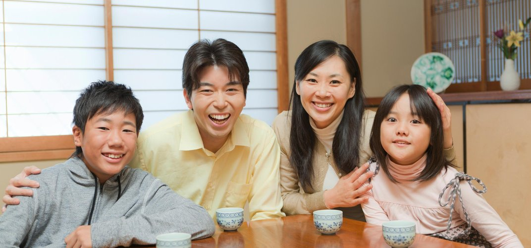 Getting to know a young family in Japan
