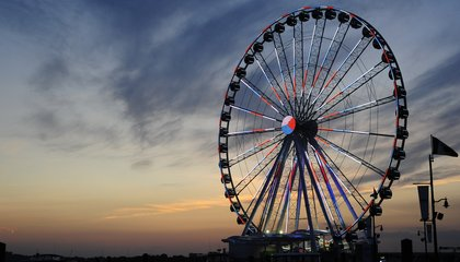 A New 180-foot Observation Wheel Opens Near Washington, D.C.