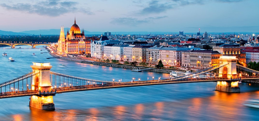Budapest, one of Europe's most beautiful cities, situated along the Danube River