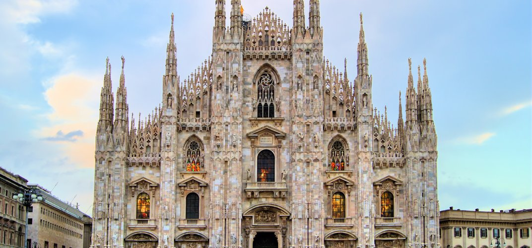 Milan's renowned cathedral