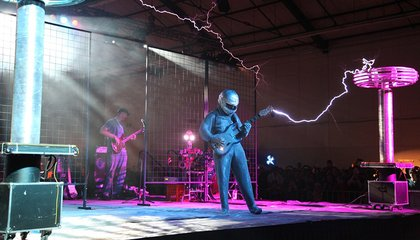 When Electricity and Music Collide, the Tesla Coils Sing