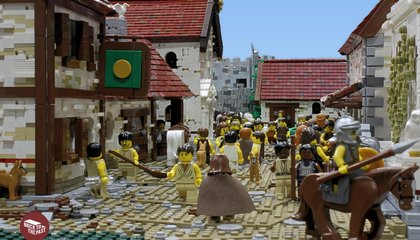 Lego Superfans Built This Epic Model of Hadrian's Wall
