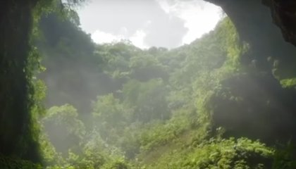 Massive Cluster of Sinkholes Found Deep in China's Mountainous Northwest