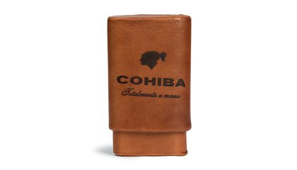 Leather Cohiba Cigar Case