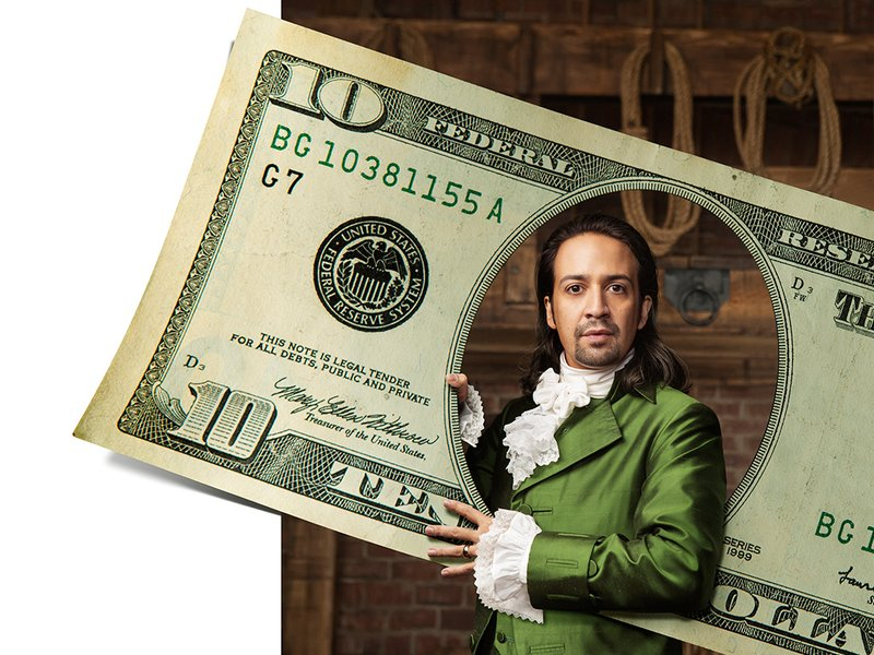 Image result for Lin-Manuel Miranda on What Hamilton Taught Him About Money