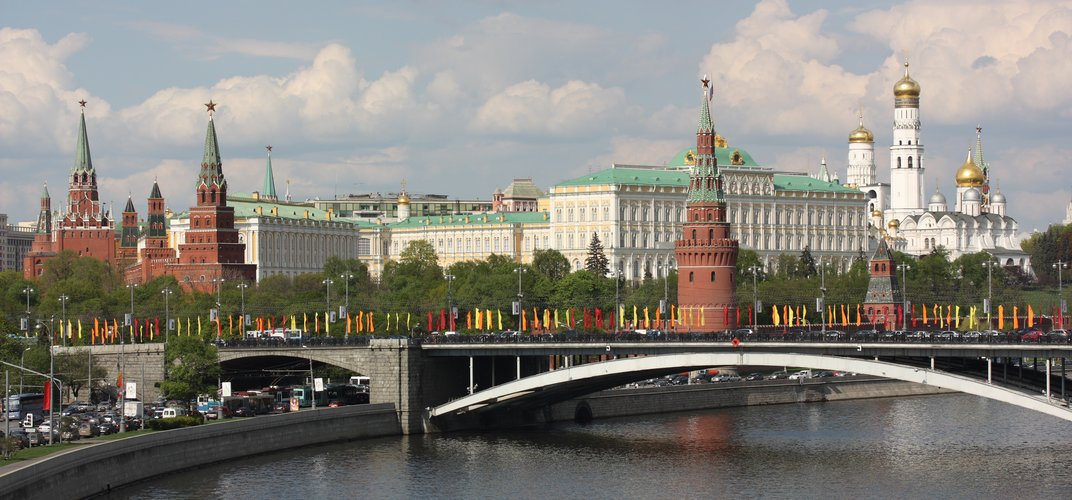 View of Moscow's Kremlin