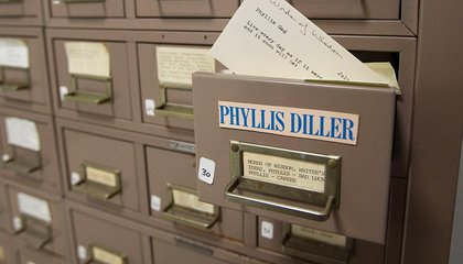 How Many Volunteers Does It Take to Transcribe Phyllis Diller's 53,000 Jokes?