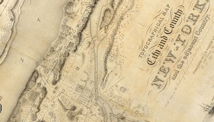 Rumsey map of NYC