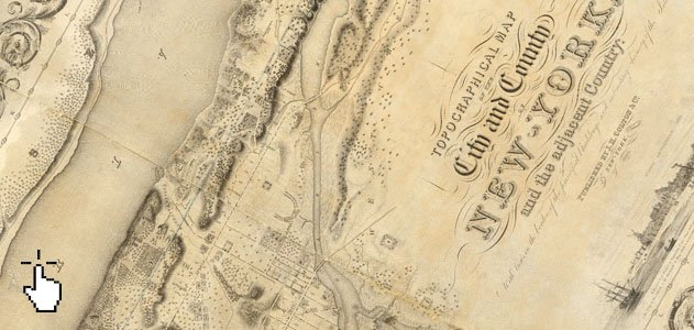 This Interactive Map Compares the New York City of 1836 to Today – Manhattan Interactive Map