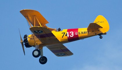 Take to the Skies in One of These Restored Vintage WWII Airplanes