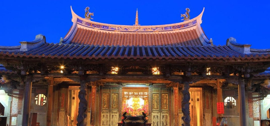 Lungshan Temple in Lukang Credit: Taiwan Tourism Board