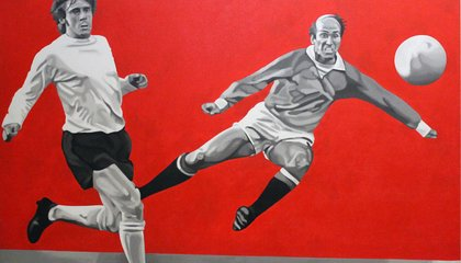 The Beautiful Game Becomes Beautiful Art as L.A. Museum Puts Soccer on Exhibit