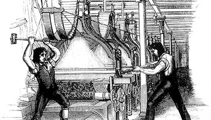 Byron Was One of the Few Prominent Defenders of the Luddites