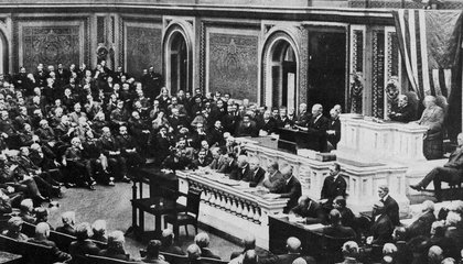 How Woodrow Wilson's War Speech to Congress Changed Him – and the Nation