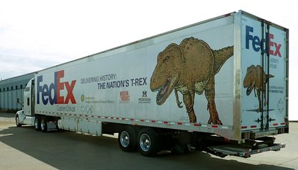 Track the Nation's T-Rex as it Arrives at the Smithsonian