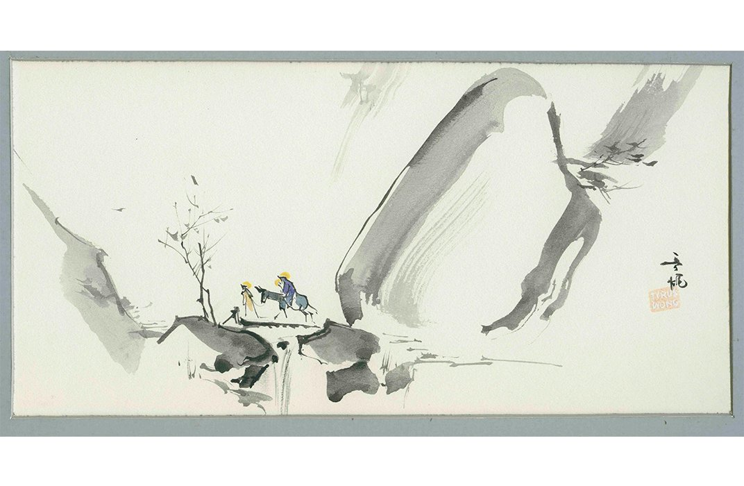 Artist Tyrus Wong S Brush With Destiny At The
