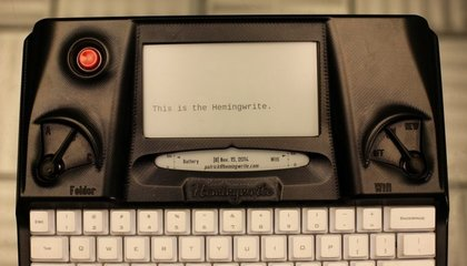 Five Wild Ideas That Just Got Funded: From a Digital Typewriter to Treadmill-Powered Gaming