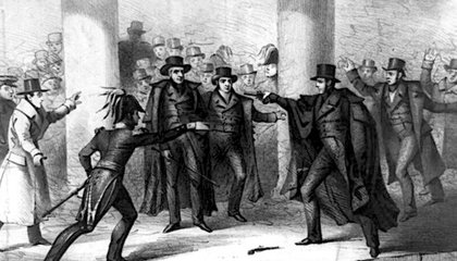 The Attempted Assassination of Andrew Jackson