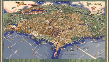 Eight Awesome Maps From Stanford's New David Rumsey Map Center
