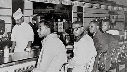 Greensboro Woolworth lunch counter