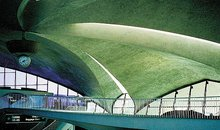 The TWA terminal was the architectural high point at Kennedy airport — and dream city for young aircrew.