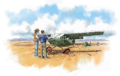 A half-baked excuse for an airplane, cobbled together in 1948, spent its entire life eroding in a Colorado desert.