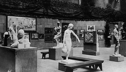 The Armory Art Show in New York in 1913.