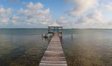Barbara Ehrenreich Sugarloaf Key Florida dock